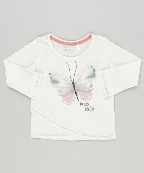 Blusa-Infantil-Borboleta-com-Lurex-Manga-Longa-Decote-Redondo-em-Algodao---Sustentavel-Off-White-9044891-Off_White_1