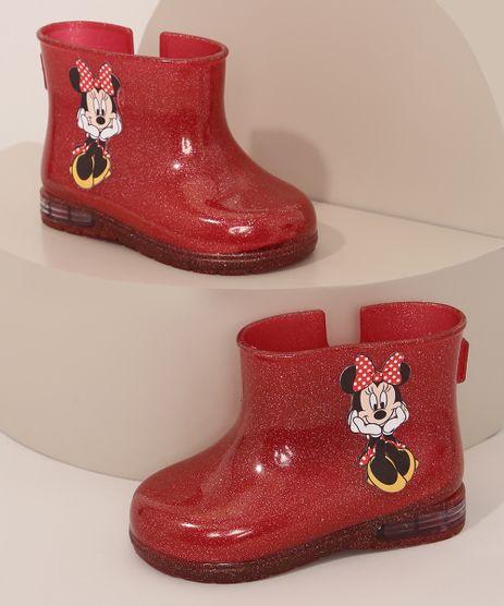 Bota-Galocha-Infantil-Minnie-com-Glitter-Vermelha-9985960-Vermelho_1