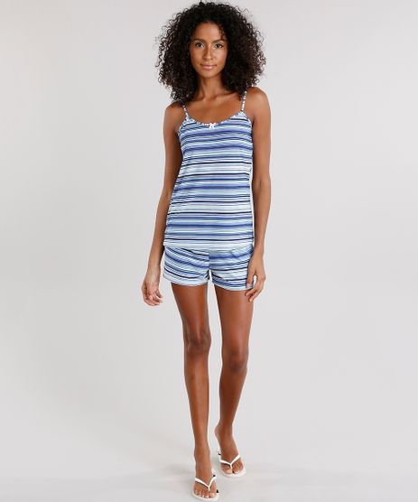 Short-Doll-Feminino-Listrado-com-Alca-Fina-Azul-9172655-Azul_1