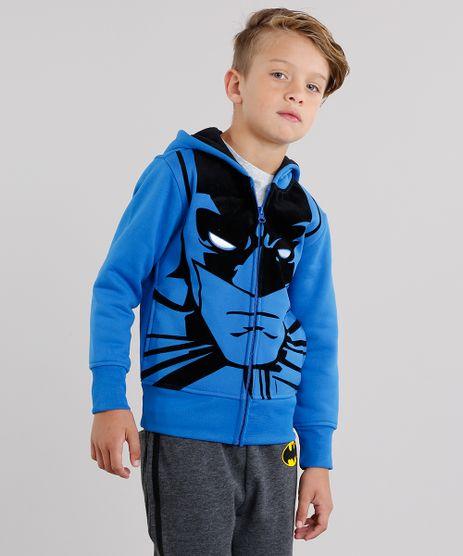 Blusao-Infantil-Batman-em-Moletom-com-Capuz-e-Bolsos-Azul-8468878-Azul_1