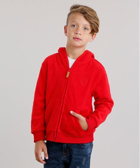 Blusao-Infantil-Basico-em-Fleece-com-Capuz-e-Bolsos-Vermelho-8838148-Vermelho_1
