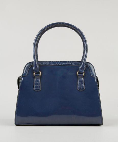 Bolsa-Feminina-Shoulder-em-Verniz-com-Bolsos-Azul-Marinho-8505679-Azul_Marinho_1