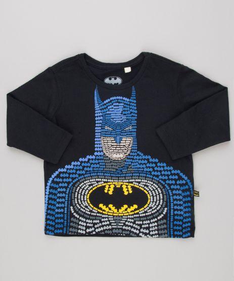 Camiseta-Infantil-Batman-Manga-Longa-Gola-Careca-e-Algodao---Sustentavel-Preta-9139693-Preto_1