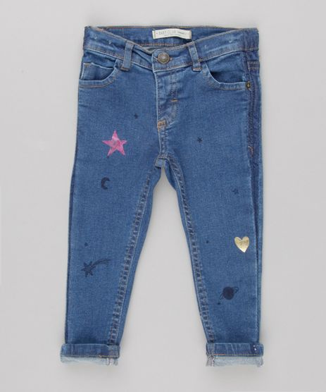 Calca-Jeans-Infantil-com-Estampa-de-Estrelas-Azul-Escuro-9062165-Azul_Escuro_1
