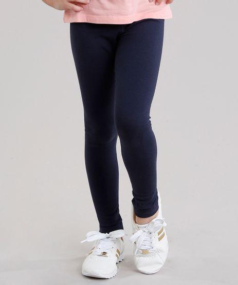 Calca-Infantil-Legging-Basica-em-Algodao---Sustentavel-Azul-Marinho-8520545-Azul_Marinho_1