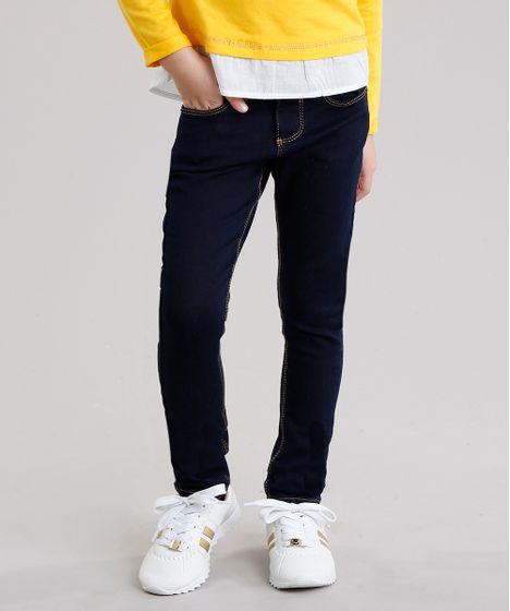b9fa6dc47d4 Calca-Jeans-Infantil-Basica-Azul-Escuro-9044057-Azul Escuro 1 ...