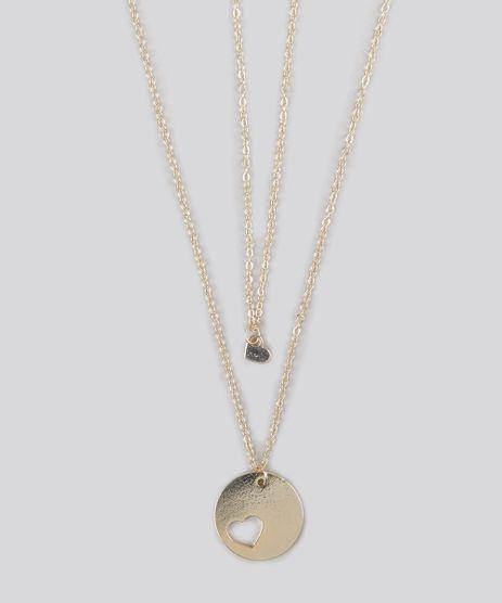 Kit-de-2-Colares-Mae-e-Filhas-com-Coracao-Dourado-9160642-Dourado_1