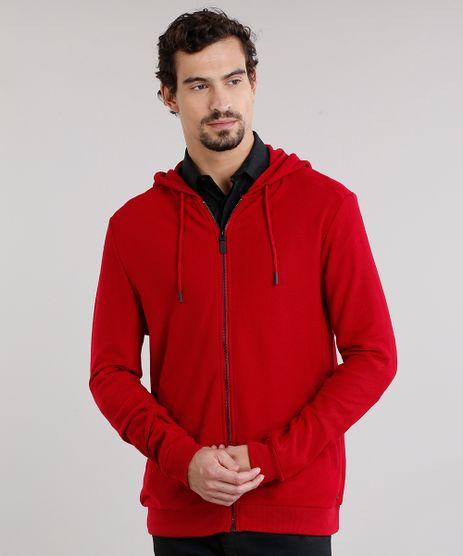 Blusao-Masculino-em-Moletom-Canelado-em-Capuz-Vermelho-8834784-Vermelho_1