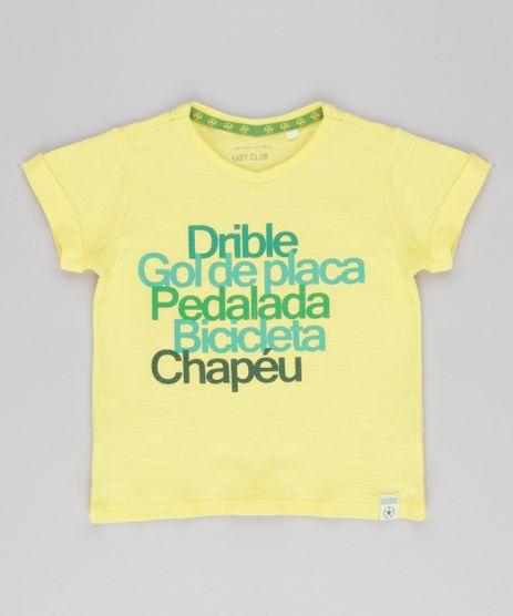 Camiseta-Infantil-Copa-do-Mundo-Manga-Curta-Gola-Careca-Amarela-9156926-Amarelo_1