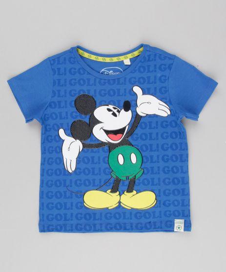 Camiseta-Infantil-Mickey-Copa-do-Mundo-Manga-Curta-Gola-Careca-em-Algodao---Sustentavel-Azul-Royal-9156936-Azul_Royal_1