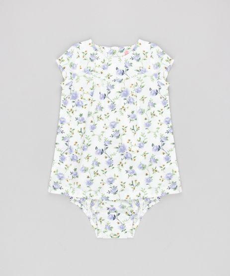 Vestido-Infantil-Estampado-Floral-com-Botoes---Calcinha-Off-White-8720164-Off_White_1