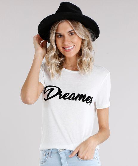 Blusa-Feminina--Dreamer--Manga-Curta-Decote-Redondo-Off-White-9128864-Off_White_1