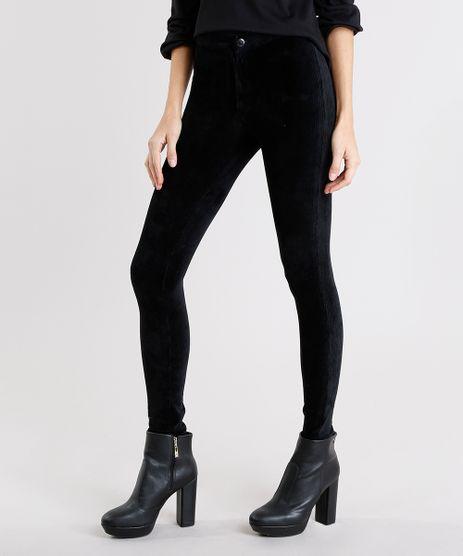 Calca-Feminina-Legging-em-Veludo-Cotele-Preta-9131413-Preto_1
