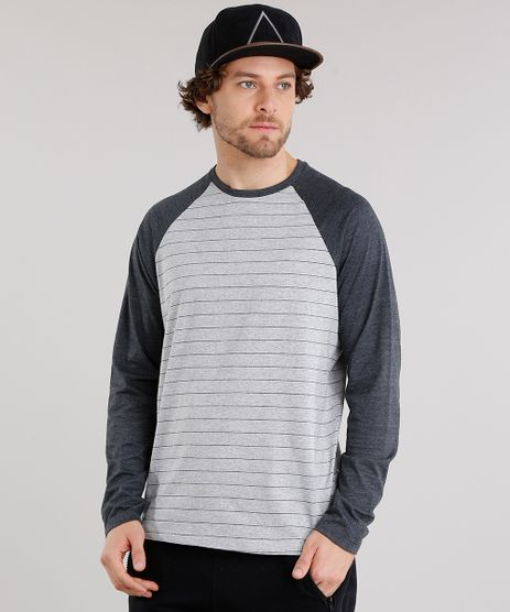 Camiseta-Masculina-Raglan-Listrada-Manga-Longa-Gola-Careca-Cinza-Mescla-Escuro-9028193-Cinza_Mescla_Escuro_1