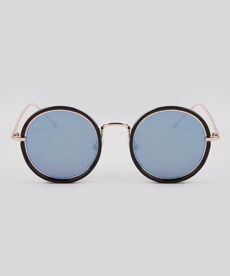 Oculos-de-Sol-Redondo-Feminino-Oneself-Dourado-9189363-Dourado_1