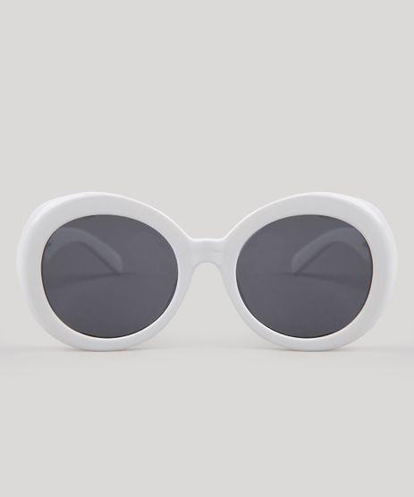 Oculos-de-Sol-Redondo-Feminino-Oneself-Branco-9189514- b57e7d2132