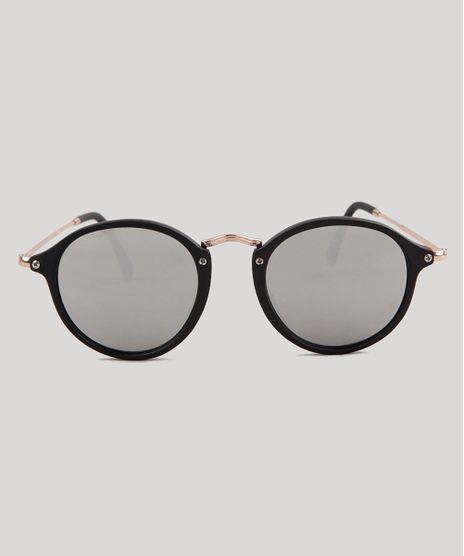 Oculos-de-Sol-Redondo-Feminino-Oneself-Preto-9189330- f704f12bc4