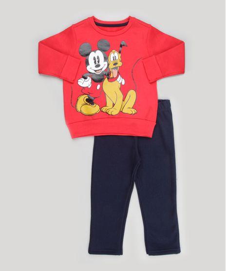 Conjunto-Infantil-Mickey-e-Pluto-de-Blusao-Vermelho---Calca-em-Moletom-Azul-Marinho-8573062-Azul_Marinho_1