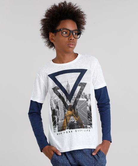 Camiseta-Infantil--New-York--com-Sobreposicao-Manga-Longa-Gola-Careca-Off-White-9129168-Off_White_1