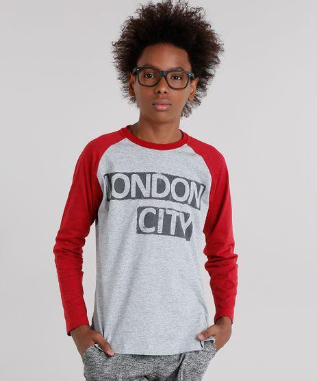 Camiseta-Infantil-Raglan-London-City-Manga-Longa-Gola-Careca-Cinza-Mescla-Claro-9144833-Cinza_Mescla_Claro_1