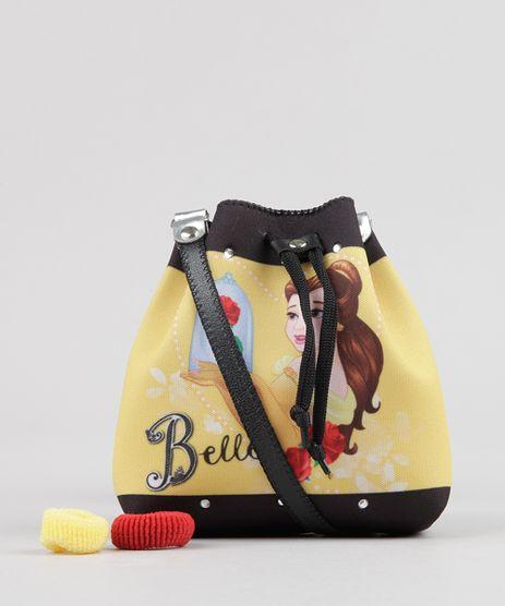 Bolsa-Infantil-Bela-com-Strass----Elastico-de-Cabelo-Amarela-9126659-Amarelo_1