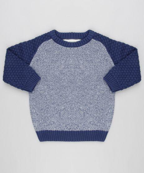 Sueter-Infantil--Raglan-em-Trico-Gola-Redonda-Mangas-Longas-Azul-Marinho-8871429-Azul_Marinho_1
