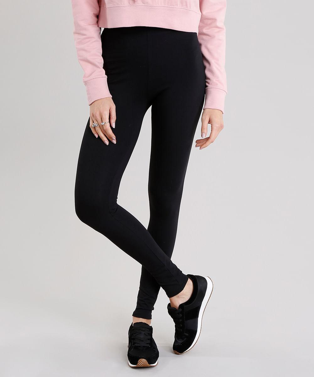 ... Calca-Feminina-Legging-Basica-Preta-8556340-Preto 1 cbec863c333