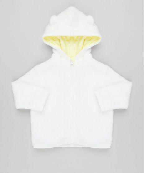 Blusao-Infantil-em-Fleece-com-Capuz-de-Orelhinhas-Off-White-8922644-Off_White_1