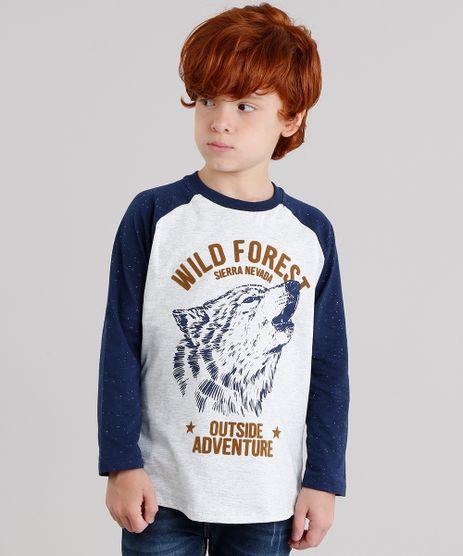 Camiseta-Infantil-Raglan-Lobo-Manga-Longa-Gola-Careca-Cinza-Mescla-Claro-9142215-Cinza_Mescla_Claro_1
