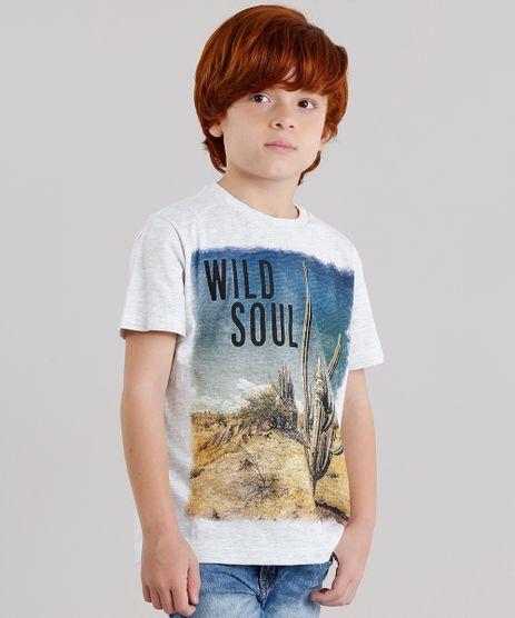 Camiseta-Infantil-com-Estampa-de-Paisagem-Manga-Curta-Gola-Careca-Cinza-Mescla-Claro-9136032-Cinza_Mescla_Claro_1