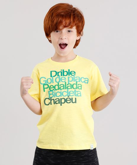 Camiseta-Infantil-Brasil-Manga-Curta-Gola-Careca-Amarela-9158815-Amarelo_1