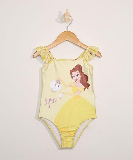 Maio-Infantil-Princesas-com-Babado-Protecao-UV50--Amarelo-9971906-Amarelo_1