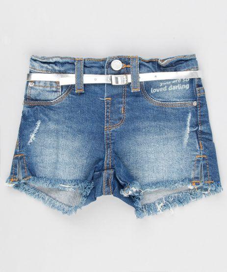 Short-Jeans-Infantil-Barra-Desfiada-com-Cinto-Metalizado-Azul-Medio-9141721-Azul_Medio_1