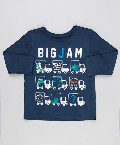 Camiseta-Infantil-Dinossauros-Manga-Longa-Gola-Careca-Azul-Marinho-9129175-Azul_Marinho_1