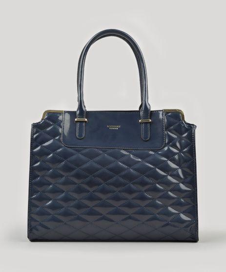 Bolsa-Feminina-Shoulder-em-Verniz-Matelasse-com-Alcas-Fixas-Azul-Marinho-8505682-Azul_Marinho_1