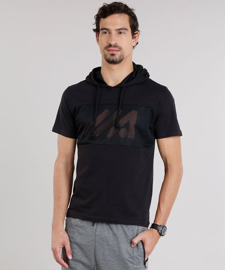 Camiseta-Masculina-Esportiva-Ace-com-Tela-e-Capuz-Manga-Curta-Preta-9126046-Preto_1