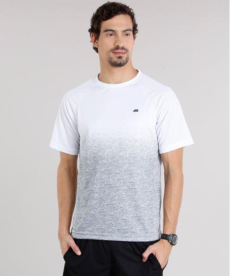 Camiseta Masculina Esportiva Ace Degradê Manga Curta Gola Redonda ... e9c8889a767bf