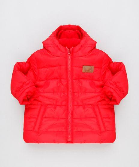 Jaqueta-Infantil-Puffer-com-Capuz-e-Forro-em-Fleece-Vermelha-8889485-Vermelho_1