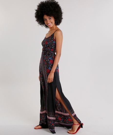Vestido-Feminino-Longo-Estampado-Floral-com-Fendas-Alca-Fina-Preto-8850719-Preto_1