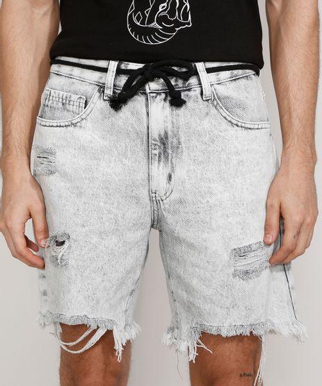 Bermuda-Jeans-Masculina-Reta-Destroyed-Marmorizada-com-Cordao-Cinza-9980152-Cinza_1