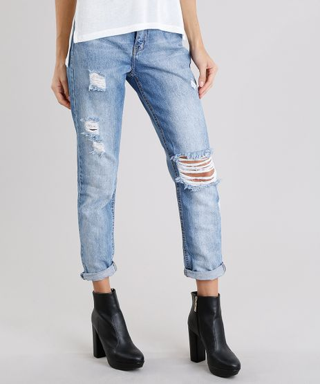 Calca-Jeans-Feminina-Mom-Pants-Destroyed-Azul-Claro-9113398-Azul_Claro_1