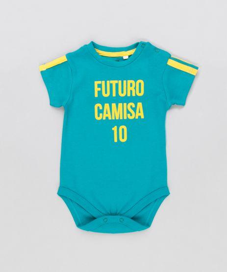 Body-Infantil-Brasil--Futuro-Camisa-10--Manga-Curta-Decote-Redondo-Verde-9154230-Verde_1