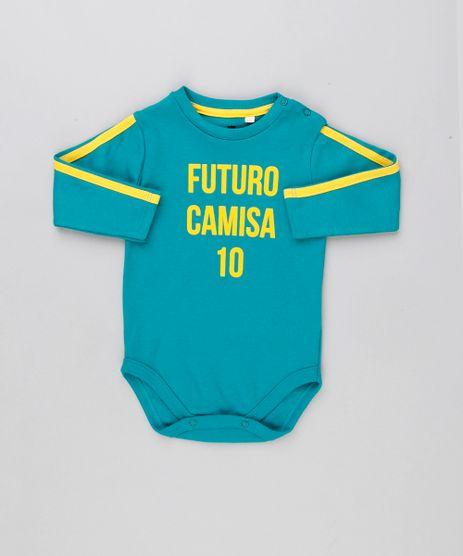 Body-Infantil-Brasil--Futuro-Camisa-10--Manga-Longa-Decote-Redondo-Verde-9154236-Verde_1