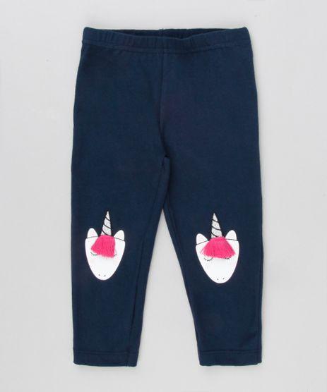 Calca-Legging-Infantil-Unicornio-com-Pompom-Azul-Marinho-9137712-Azul_Marinho_1