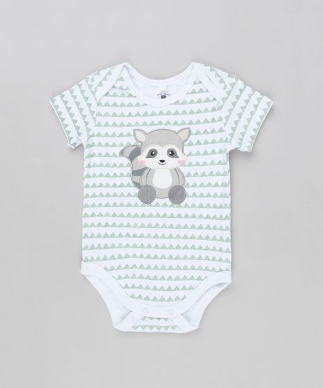 Body-Infantil-Guaxinim-Estampado-Geometrico-Manga-Curta-Gola-Redonda-em-Algodao---Sustentavel-Off-White-8814682-Off_White_1