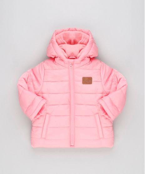 Jaqueta-Infantil-Puffer-com-Capuz-e-Forro-em-Fleece-Rosa-8889471-Rosa_1