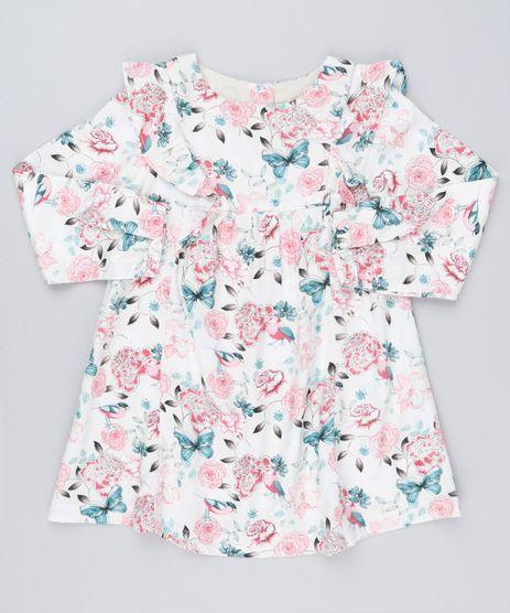 Vestido-Infantil-Estampado-Floral-Manga-Longa-com-Babado---Meia-Calca-Rose-8859323-Rose_1