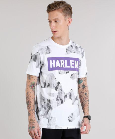 Camiseta-Masculina-Estampada--Harlem--Manga-Curta-Decote-Careca-Branca-9152168-Branco_1