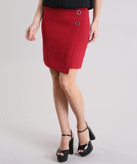 Saia-Feminina-Curta-com-Ilhos-Barra-Assimetrica-Vermelha-9031434-Vermelho_1
