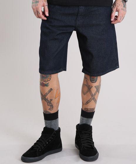 Bermuda-Jeans-Masculina-Reta-Azul-Escuro-8757339-Azul_Escuro_1